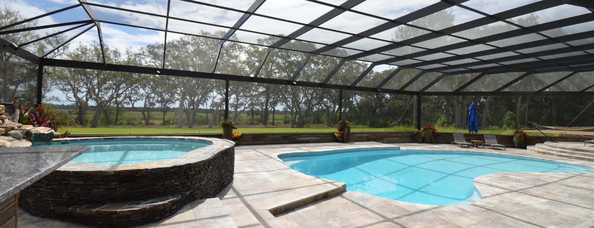 Swimming Pool Enclosures Screen Room Sunroom Tropical Enclosures